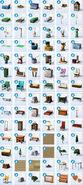 Sims4 de acampada objetos