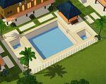 Lofty Cerulean Blue Pool