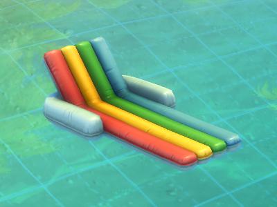 Float lounger