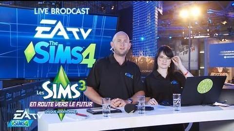 Live Broadcast Les Sims en direct de la Gamescom 23 Août 2013 - Version Française