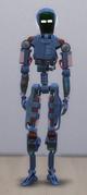 TS4 Servo Blue and Red