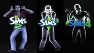 Ghost from The Sims 2 to The Sims 4