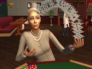 Госпожа Пьяная-Помятая играет в карты