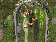 Greenman Wedding