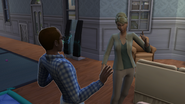 Maggie and Lawrence Arguing