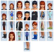 Sims 4 Escapada en la Nieve CAS 4