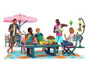 Les Sims 4 - En plein air render02