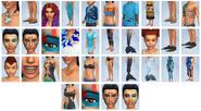 Sims4 Vida Isleña CAS3