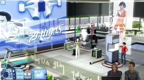 The Sims 3 Вперед В Будущее - Первый Геймплей (Рус