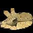 Fósil de pez antiguo