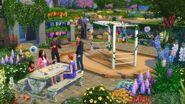 Sims4 Jardin Romantico 5