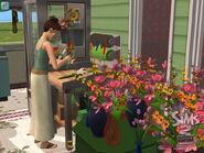 Abren negocios - Estación de creación de ramos florales