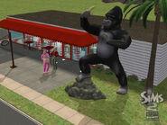 Abren negocios - Estatua promocional