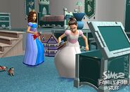 Sims 2 family fun stuff 1