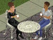 Sylvia and Diane