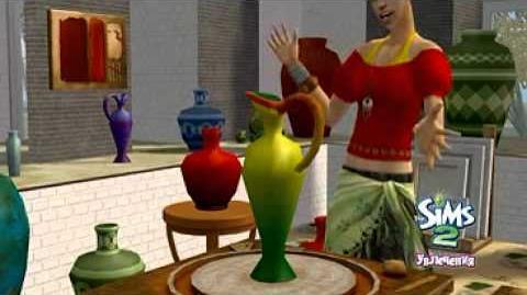 The Sims 2 Увлечения - видеоролик