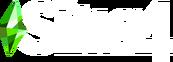 New The Sims 4 Logo (White)
