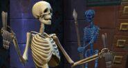 """TS4 Скелет """"машет"""""""
