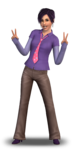 Les Sims 3 console Render 2