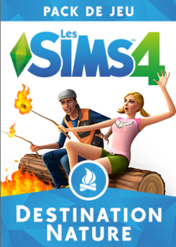 Packshot Les Sims 4 Destination Nature.png