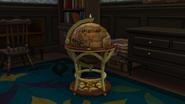 16th Century Monte Vista Globe Bar Detail