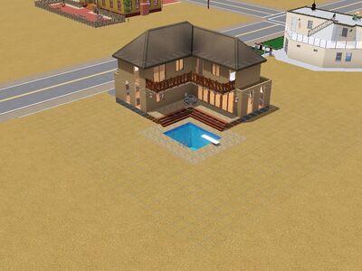 Casa Valemutxo 2 hecho por Luis Simspedia