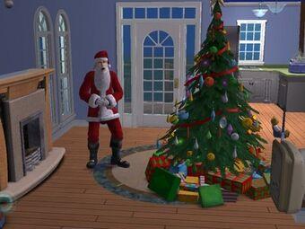 Christmas Tree The Sims Wiki Fandom