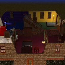 Goth home the sims 2 second floor.jpg
