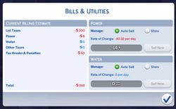 Sims 4 Patch 95 Bills.png