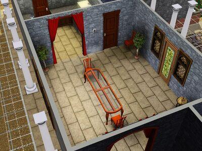 Comedor de la casa Fantoche versión de Luis Simspedia