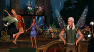 TS3 supernatural fairy party
