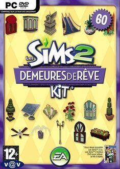 Jaquette Les Sims 2 Demeures de rêve.jpg