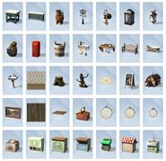 Sims 4 Vida en el Pueblo Objetos 3