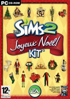 Jaquette Les Sims 2 Joyeux Noël.jpg