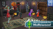 The Sims FreePlay Monsters and Magic Have a Fun Halloween