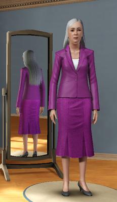 Jacqueline Vandarren versión de Luis Simspedia