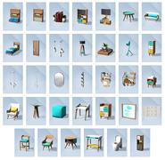 Sims 4 Minicasas Objetos
