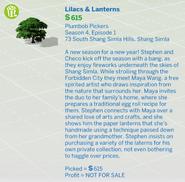 Lilacs & Lanterns