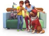 Sims4 mi primera mascota Render 1