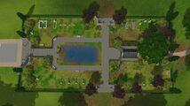 Sunet Valley Graveyard Aerial View