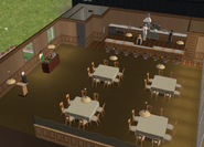 Teleprompter Apartments restaurant