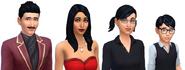 Goth Family headshot