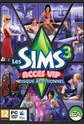 Jaquette alternative Les Sims 3 Accès VIP