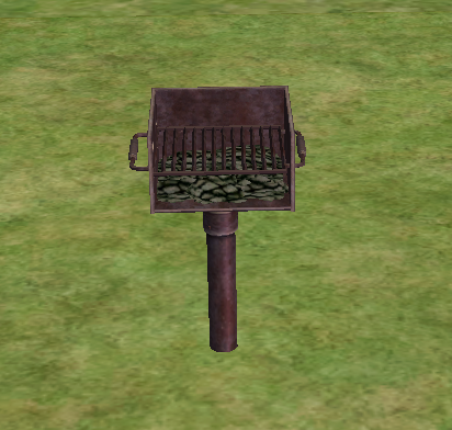 Barbecue/The Sims 2
