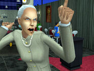 Dina smacked by Mrs. Crumplebottom 3