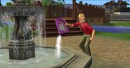 Soap in fountain prank, TS2