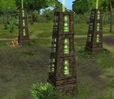 Scavenger Fields Green Pillars