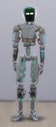 TS4 Servo White and Beige