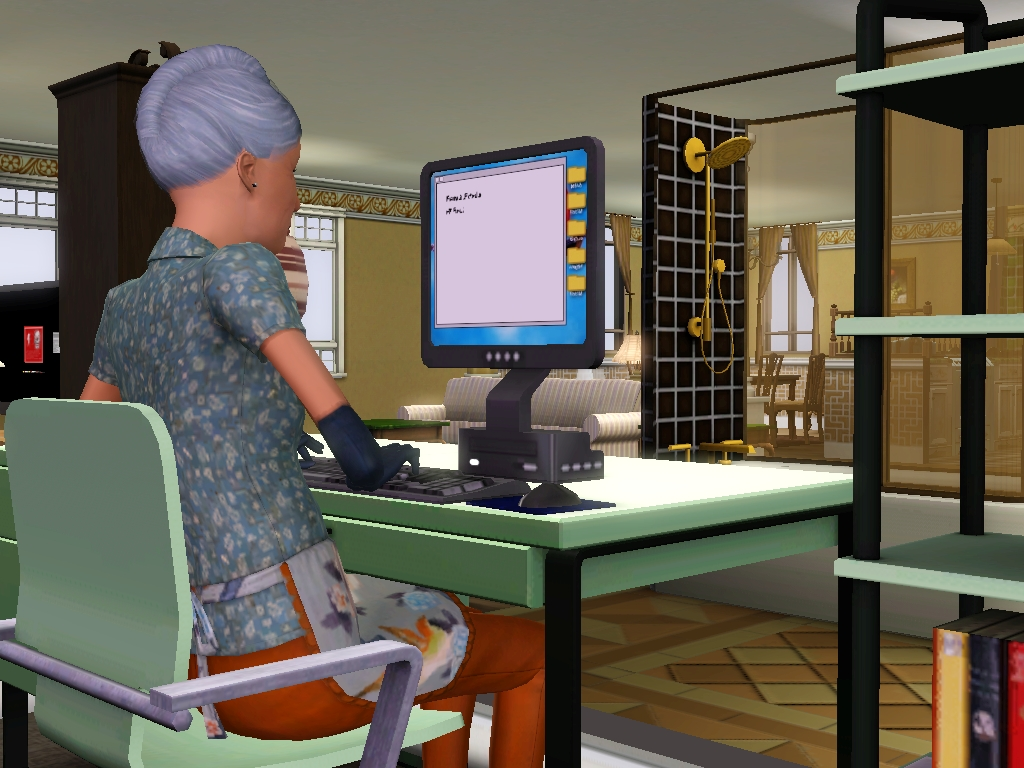 Writing (The Sims 3)