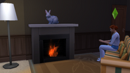 Jacob By the Fire